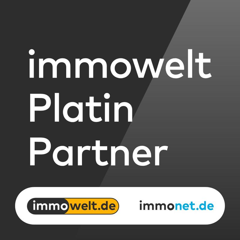 Immowelt Platin Logo